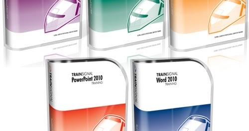 IT TRAINING: Trainsignal-Microsoft Office 2010 Training Package