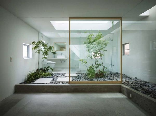 Desain Kamar Mandi Minimalis Nuansa Alam 30 Desain Kamar Mandi Minimalis Nuansa Alam Dengan Batu Alam