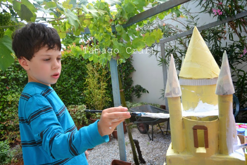 Tamago Craft: oh che bel castello