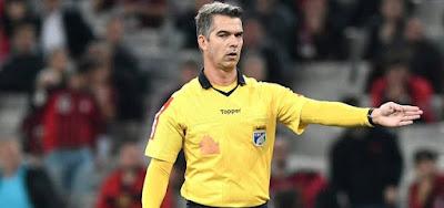 Péricles Bassols em ação no Campeonato Brasileiro: árbitro foi contratado pela Turner