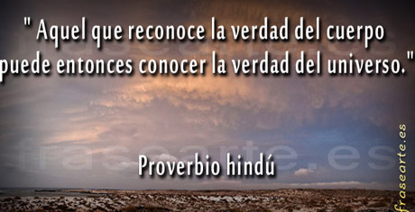 Proverbio hindú - Frases sobre la verdad