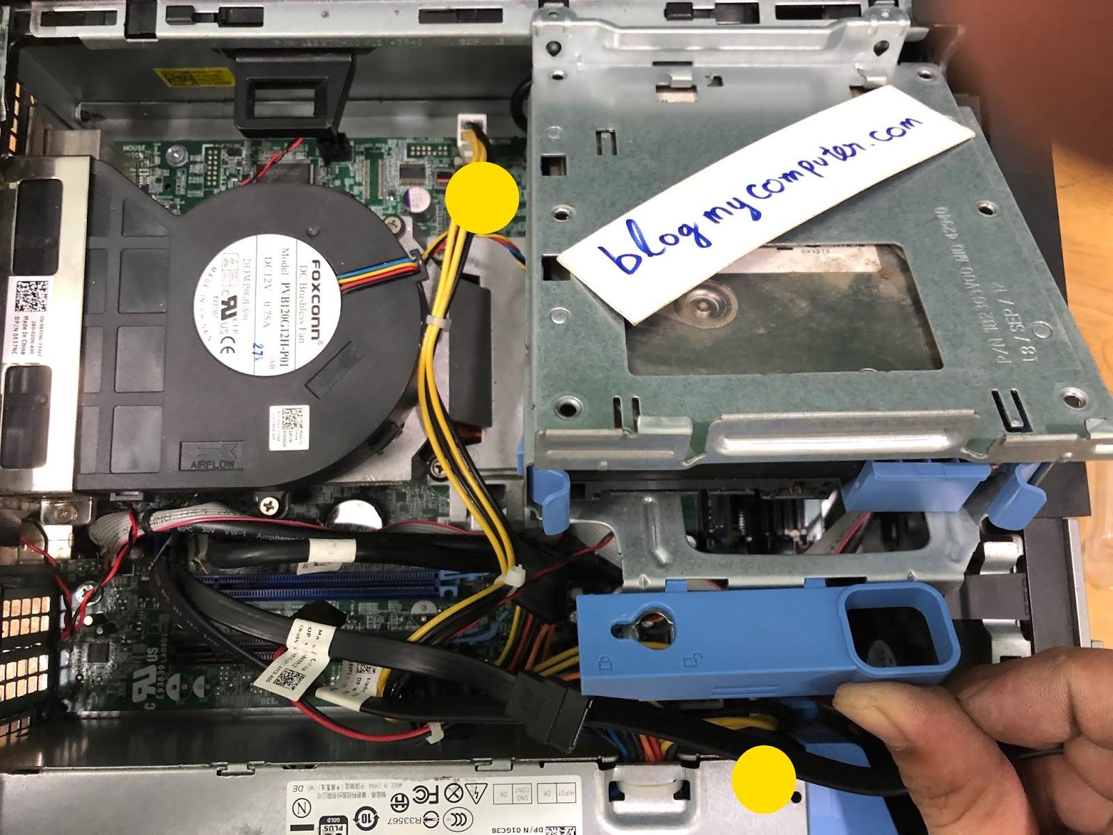 Dell optiplex 3010, 990, 790, 390, 960,9010, 7010 sff black