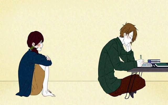 Anime Yang Mirip Dengan Tsurezure Children adalah Honobono Log