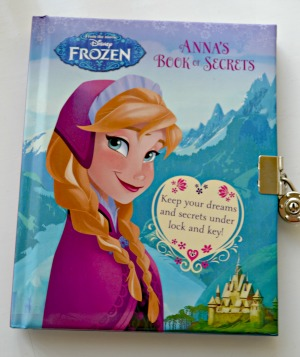 From Disney Frozen - Annas book of secrets bargain price £1