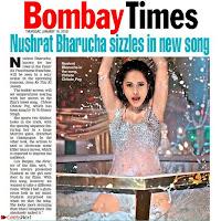 Nushrat Bharucha New Bollywood sensation from Sonu Ke u Ki Sweety Exclusive Unseen Pics ~  Exclusive Gallery 030.jpg