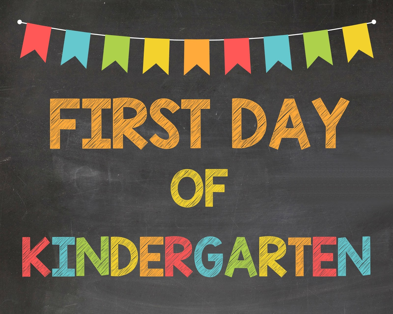 Monster image pertaining to first day of kindergarten printable