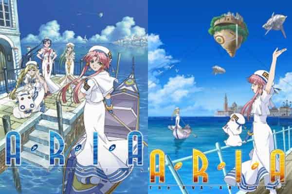 Aria - anime terbaik