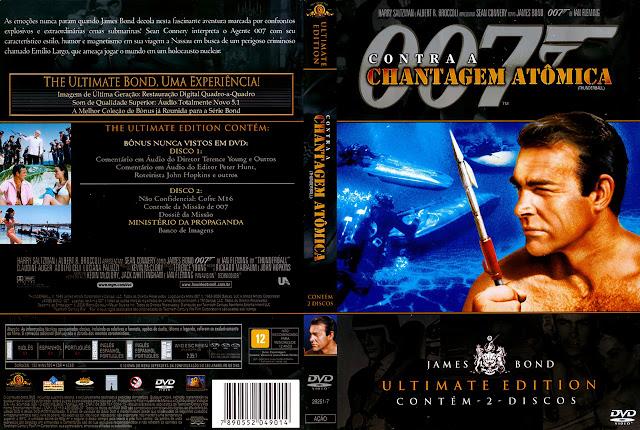 Capa DVD 007 Contra a Chantagem Atômica