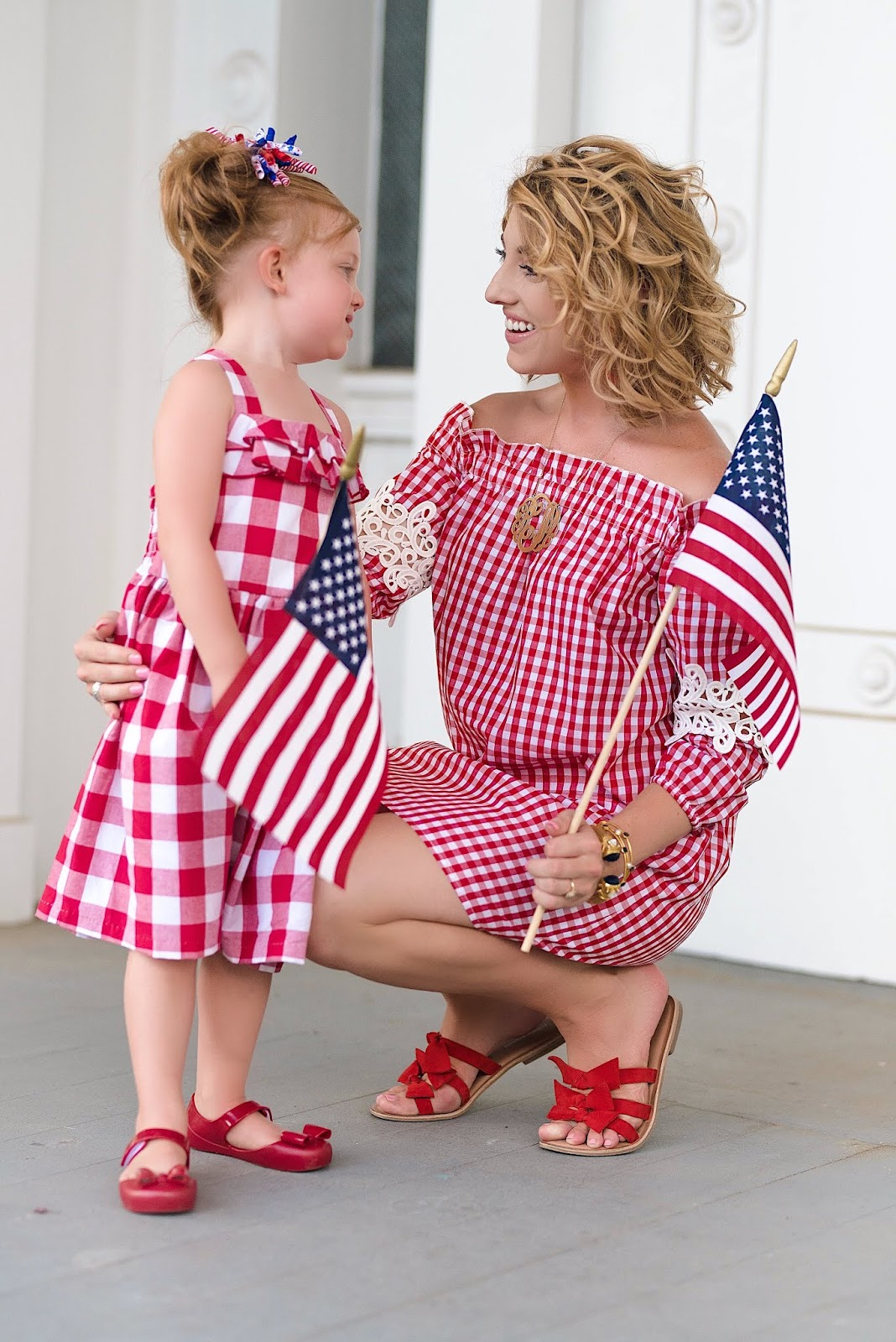 Mommy and Me July 4th Outfit Inspiration - Something Delightful Blog