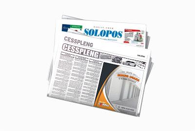 pasang iklan ruang usaha di koran solopos