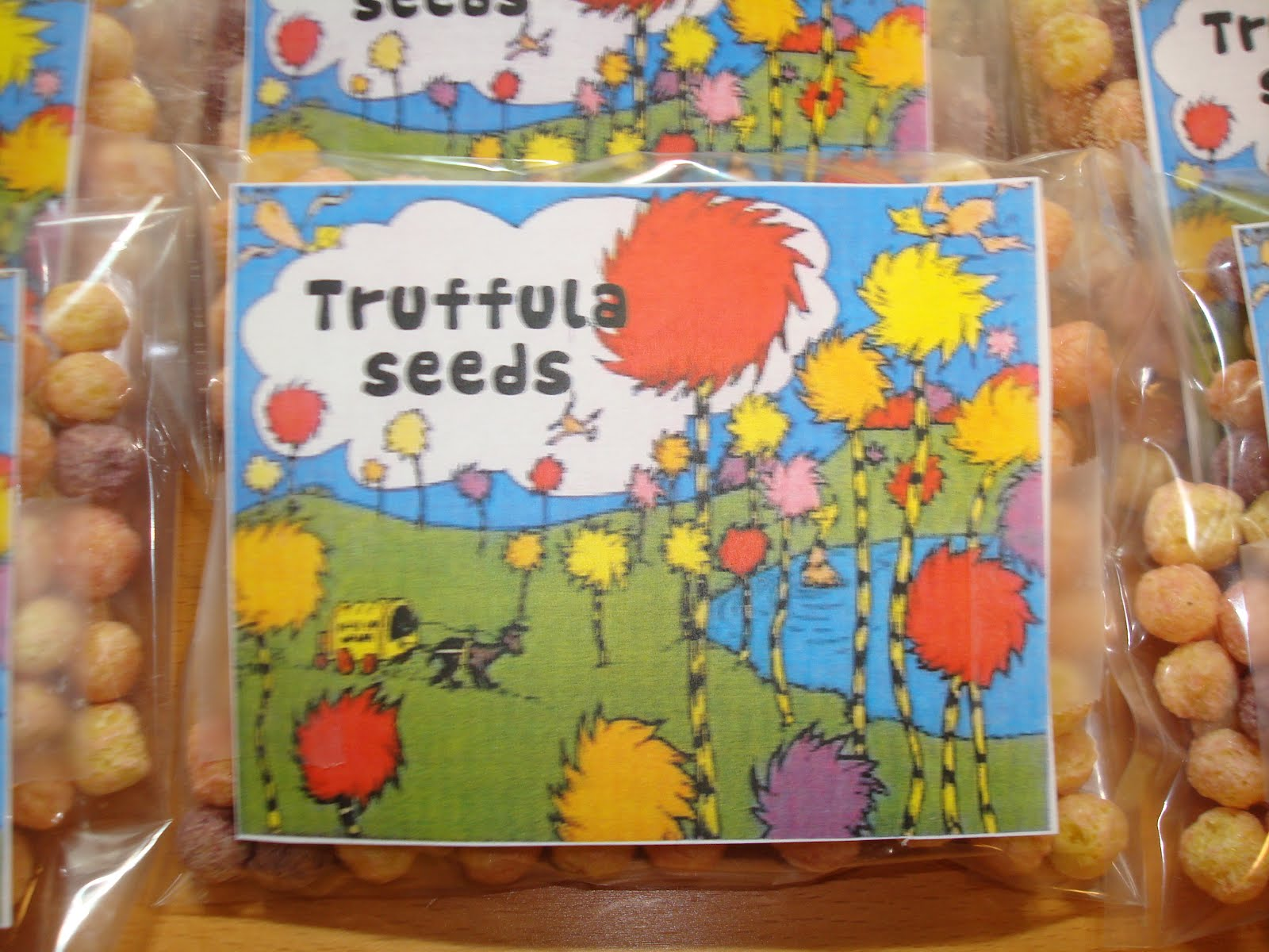 Lollipops Amp Paper The Lorax Truffula Seeds Free Printable