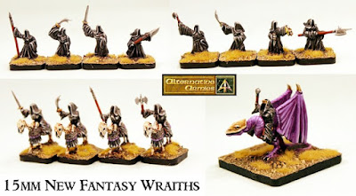 HOT 15mm Fantasy range expands with new packs of Wraiths