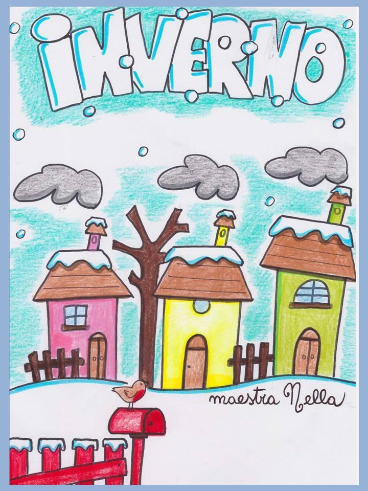 Maestra nella il libro dell 39 inverno for Addobbi inverno scuola dell infanzia