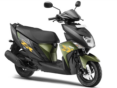 Yamaha introduced two new colors in the 113cc scooter, Cygnus Ray-ZR, not replaceable prices