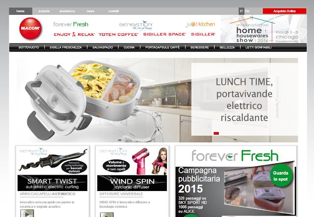 macomsrl.it sito di elettrodomestici per la casa e la cucina