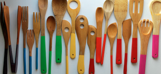 Tightwad: Pretty stuff to make: upcycled wooden utensils