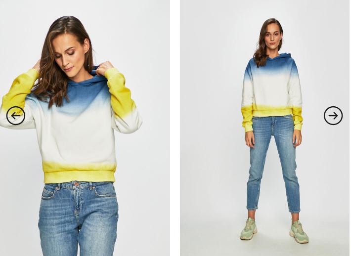 Tally Weijl - Bluza dama multicolora in degrade moderna