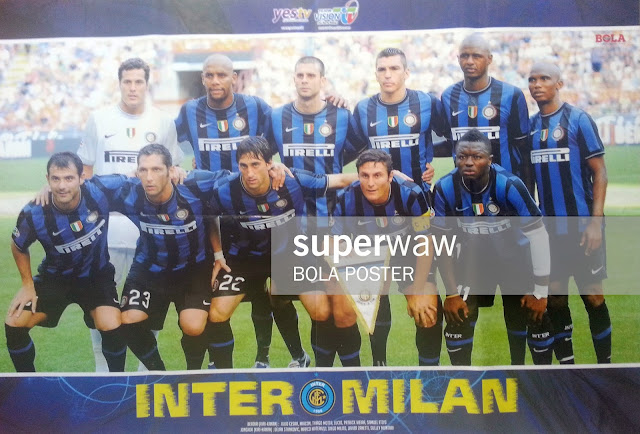 Inter Milan 2009 Team Squad