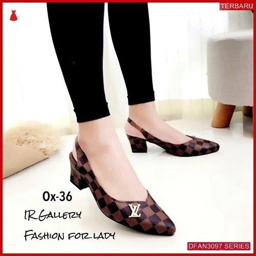 DFAN3097S113 Sepatu Hs102 Hak Tahu Wanita Wedges Murah BMGShop
