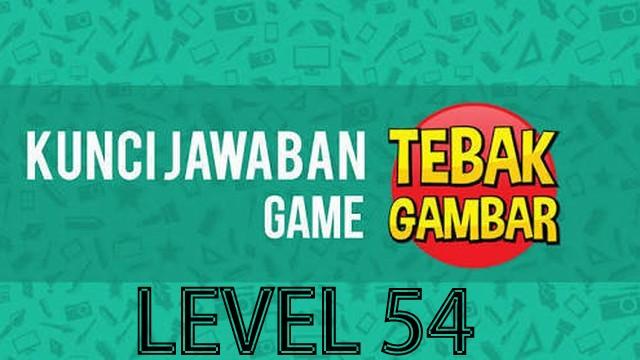 jawaban tebak gambar level 54