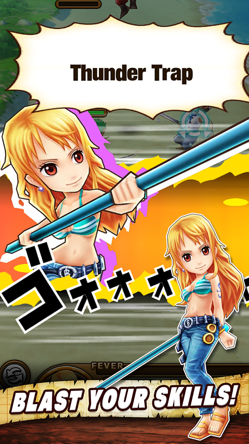 ONE PIECE THOUSAND STORM EN MOD APK