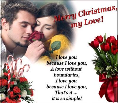 Shayari for christmes with image