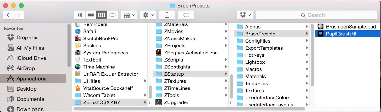 ZBrush - Creating a custom Brush using Curve Profiles | Daniel