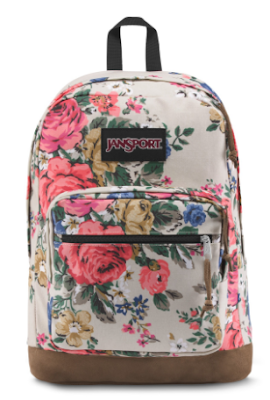 Jansport fleuri