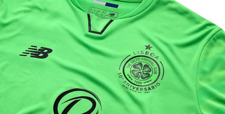 Celtic presentó su tercera camiseta New Balance para la temporada 2017/18