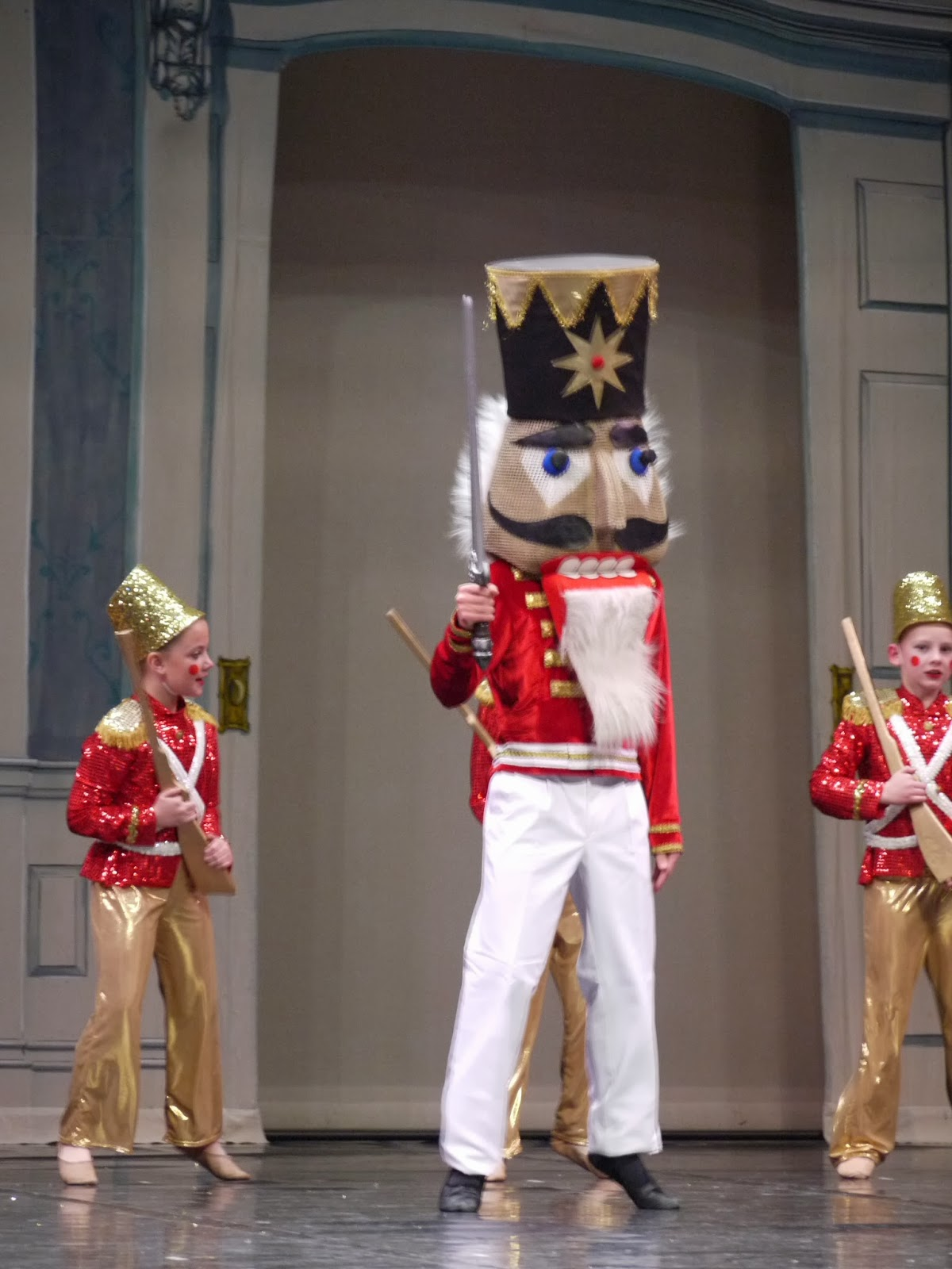 Full Nutcracker ballet costume with jacket