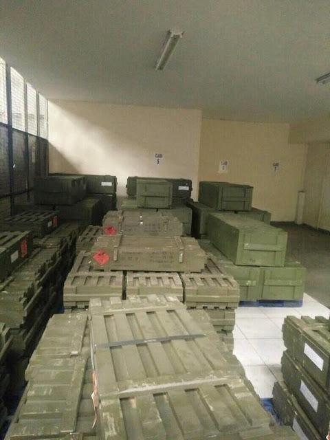 senjata3 - Geger! Telah Tiba di Bandara Soetta Senjata Impor, Inikah Yang Dimaksud Panglima TNI?