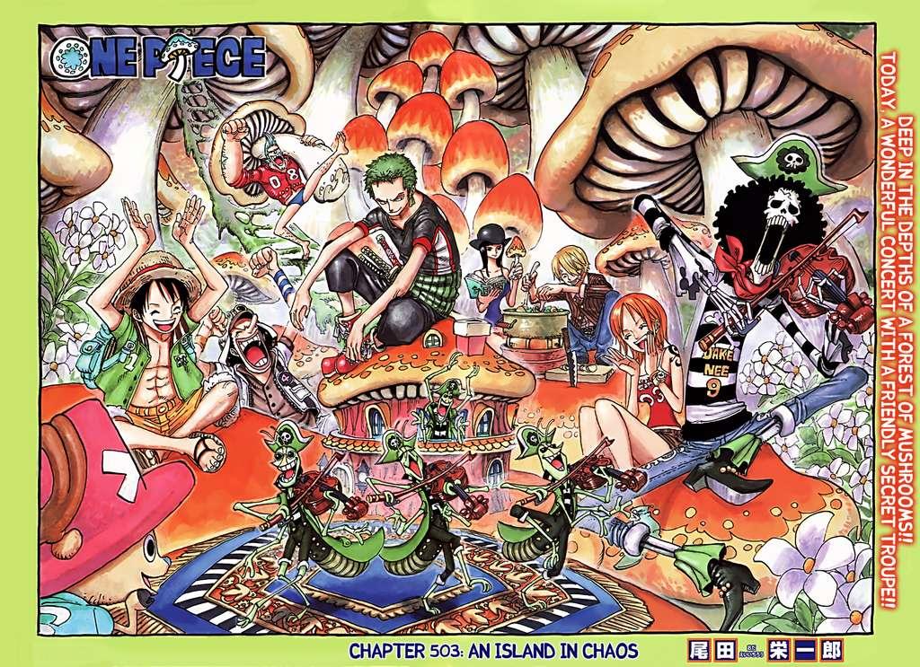 One Piece Chap 503