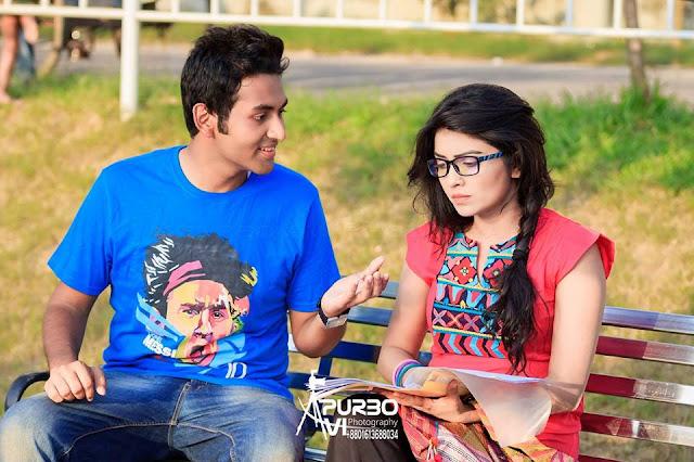 Tamim Mridha and Ishika Khan