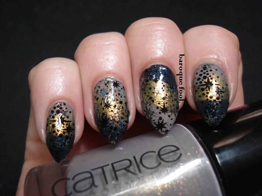 baroque fool: WitchCraft nails: Dark magic