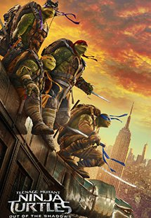 Ninja Rùa 2: Đập Tan Bóng Tối - Teenage Mutant Ninja Turtles: Out of the Shadows