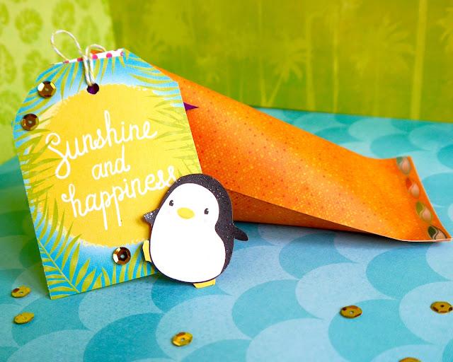 Gift Box Party by Katherine Sutton using BoBunny Make a Splash