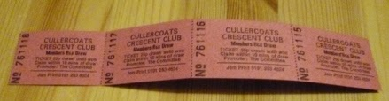 Tickets for the Cullercoats Crescent Club Members Box Draw - administered by the Raffletech 3010