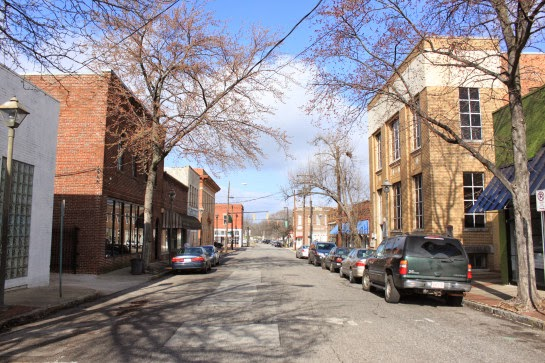 An image of woodlawn downtown