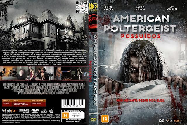 Capa DVD American Poltergeist: Possuídos [Custom]