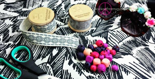 coachella festival jewelry DIY tutorial