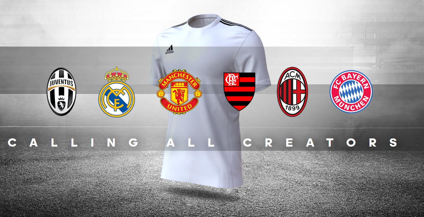 Adidas lança Creator Studio para torcedor desenhar camisas de futebol d24643d9137c3