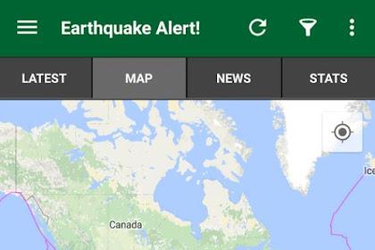 Aplikasi Android Pendeteksi Gempa Bumi  di HP Perlu di Coba