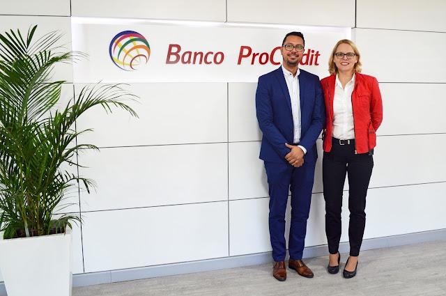 Banco Procredit innova su modelo de atención con oficinas cashless