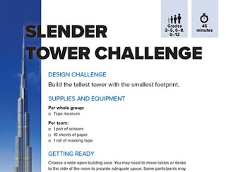 slender tower education experiment
