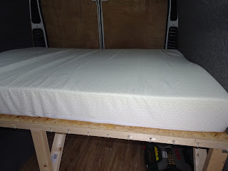 van conversion high bed