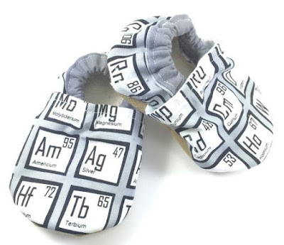 Chemistry Baby Shoes