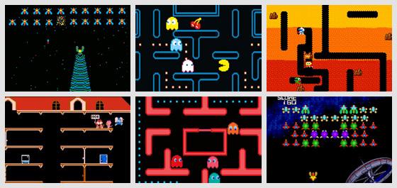 Pac-Man Galaga Ms Pac-Man e Dig Dug