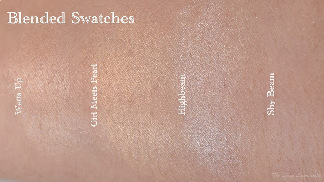 Benefit cosmetics swatch