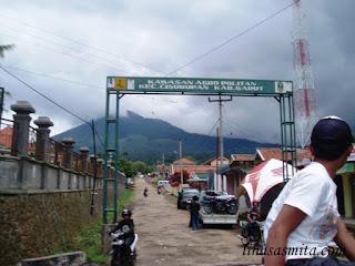 Rute menuju Gunung Papandayan
