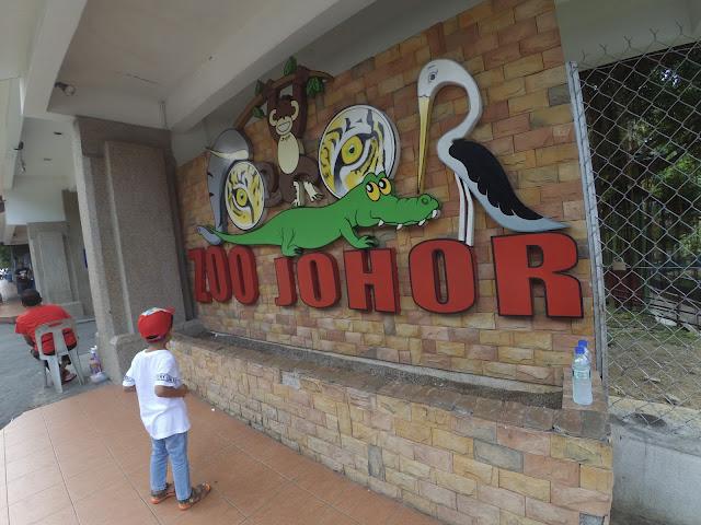 Pengalaman Melawat Zoo Johor